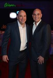 Dana White and Andre Agassi. Photos: Denise Truscello/WireImage