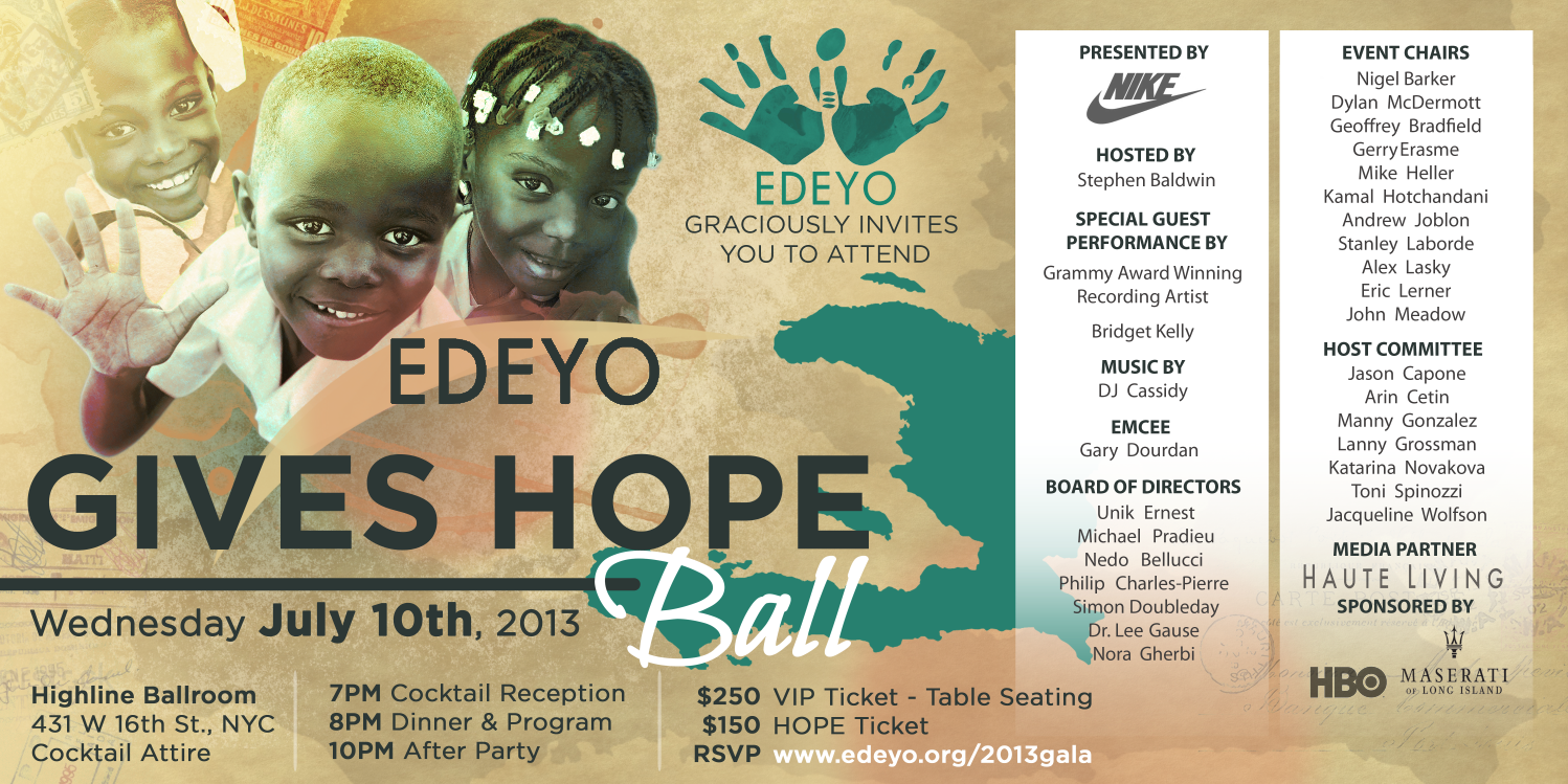 2013 Edeyo Ball Invitation