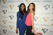 Nana Meriwether and Katherine Webb on the red carpet at The Act.