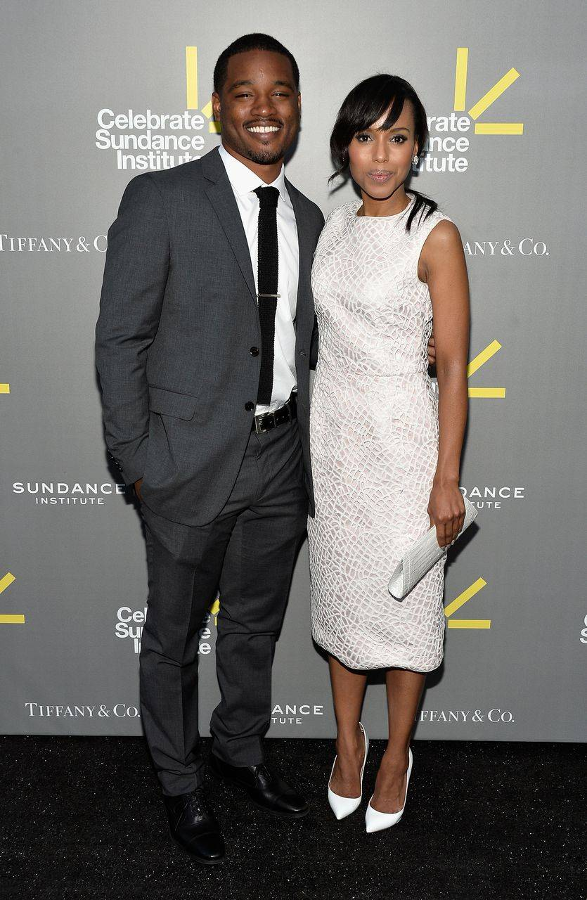 Ryan Coogler and Kerry Washington_Photo by Frazer Harrison_Getty Images