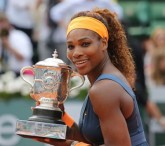 Serena Williams Cinches First French Open Title