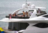 One Direction Rents Out a $2.3 Million Yacht For A Saturday On The Bay