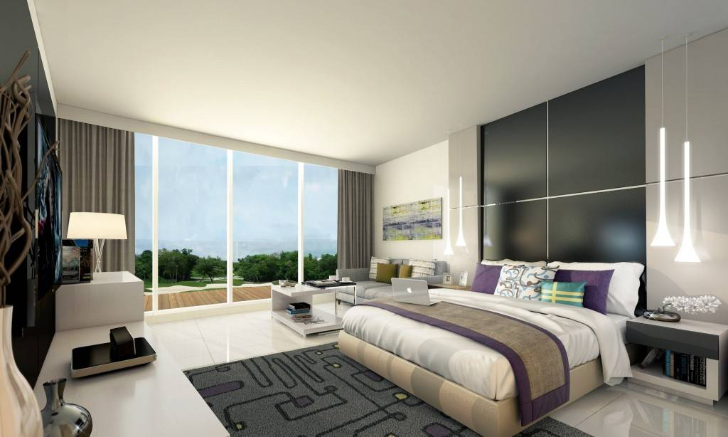 Golf Condominium Spacious Bedroom Area