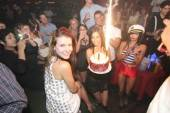 Nathalia Ramos enjoys her cake presentation at The Act Nightclub.