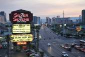 The Silver Sevens lights up the Las Vegas Strip with the official new marquee.