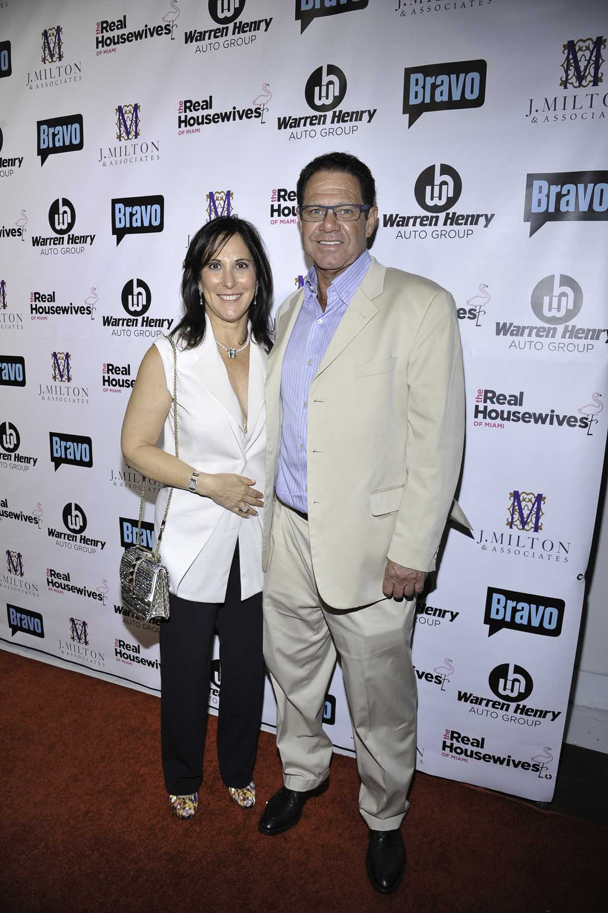 Vicki Miller and Warren Henry Zinn, President and CEO of Warren Henry Auto Group