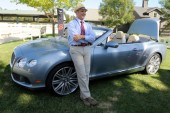 Don De Franco in front of Bentley GTC V8 Convertible
