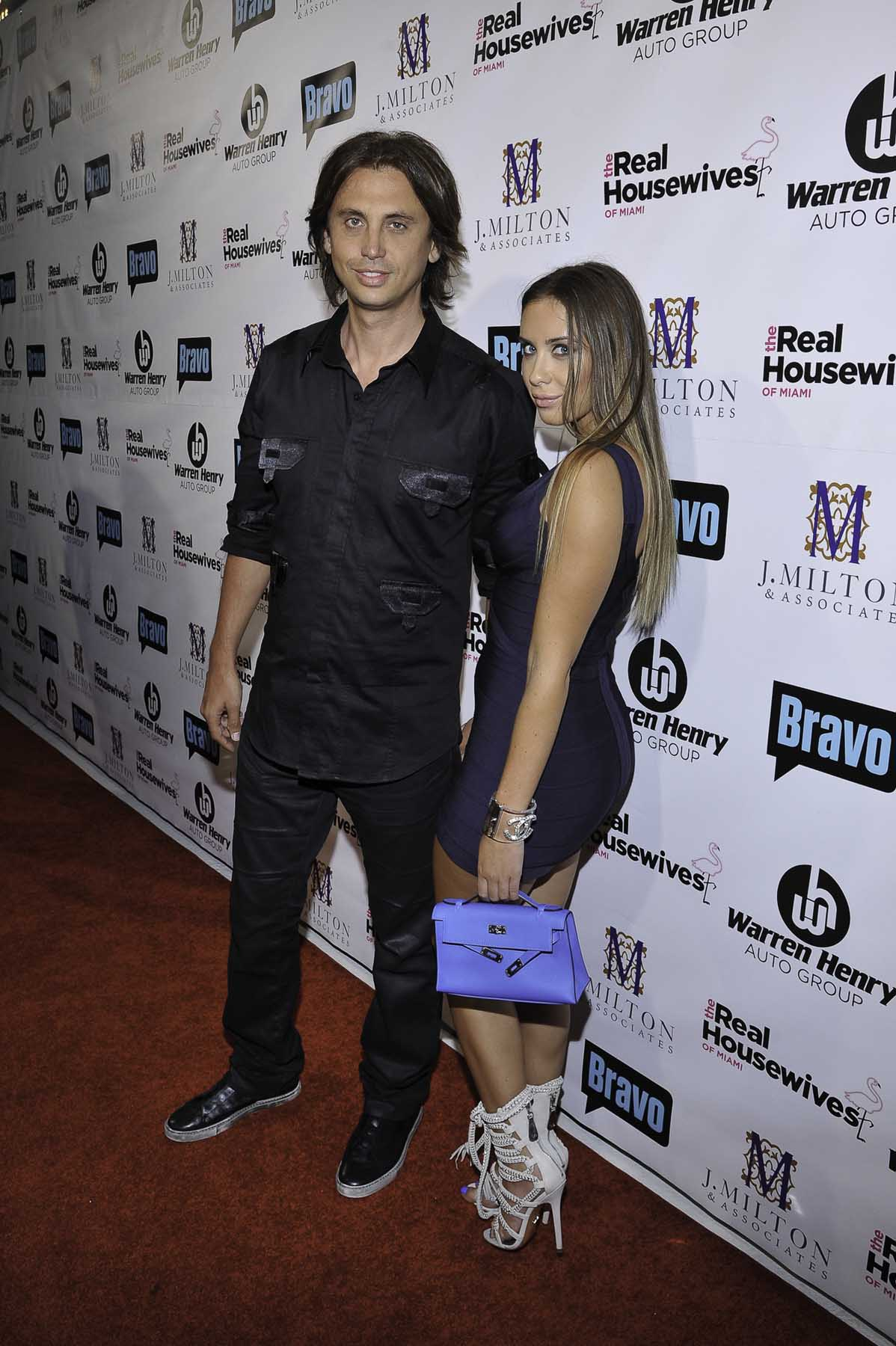 Jonathan Cheban and Anat Popovsky