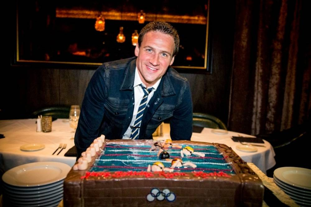 Ryan Lochte celebrates birthday at Andiamo at the D 8.18.13 - Photo Credit Glenn Brogan