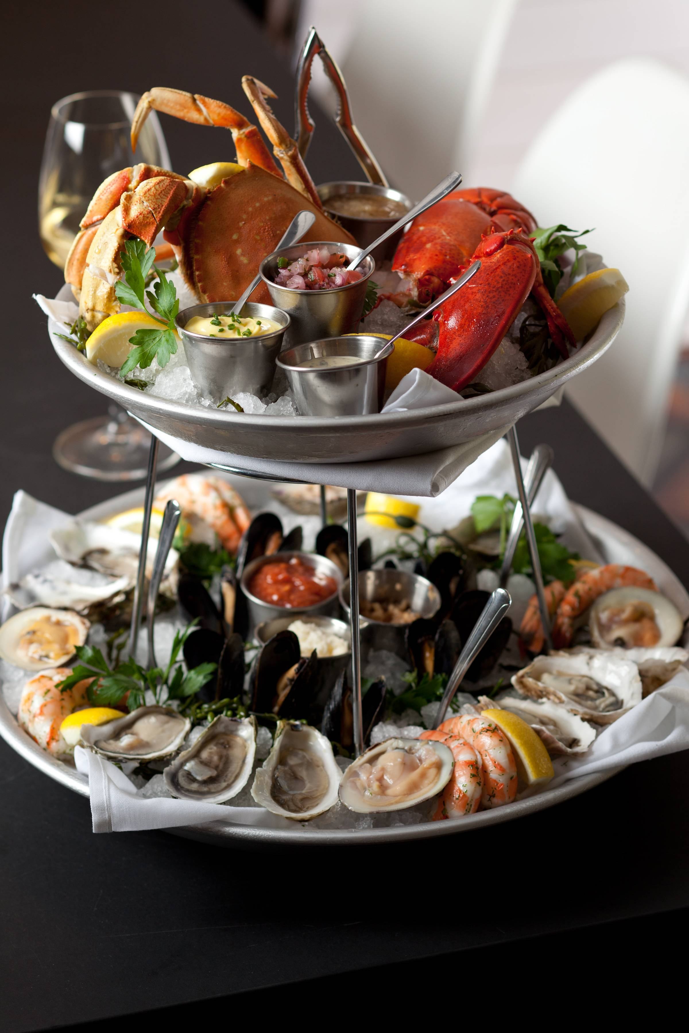 Seafood Tower - Credit Rick Poon