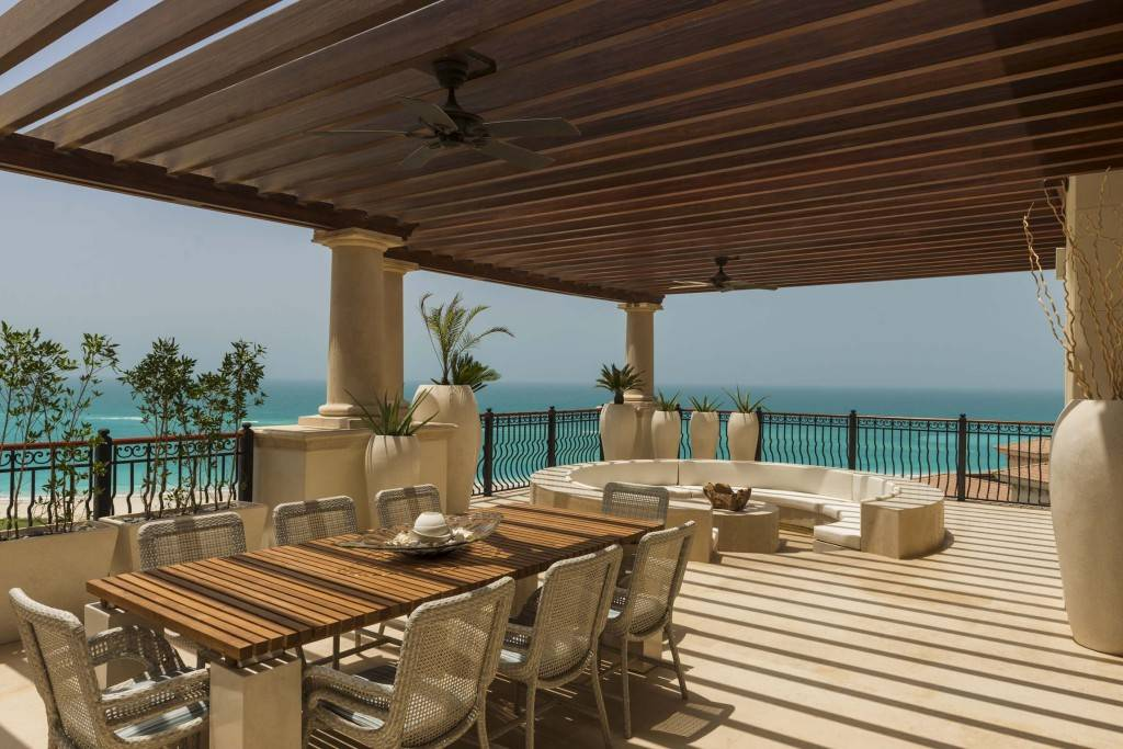 St. Regis Abu Dhabi seaview terrace largest hotel suite in the world