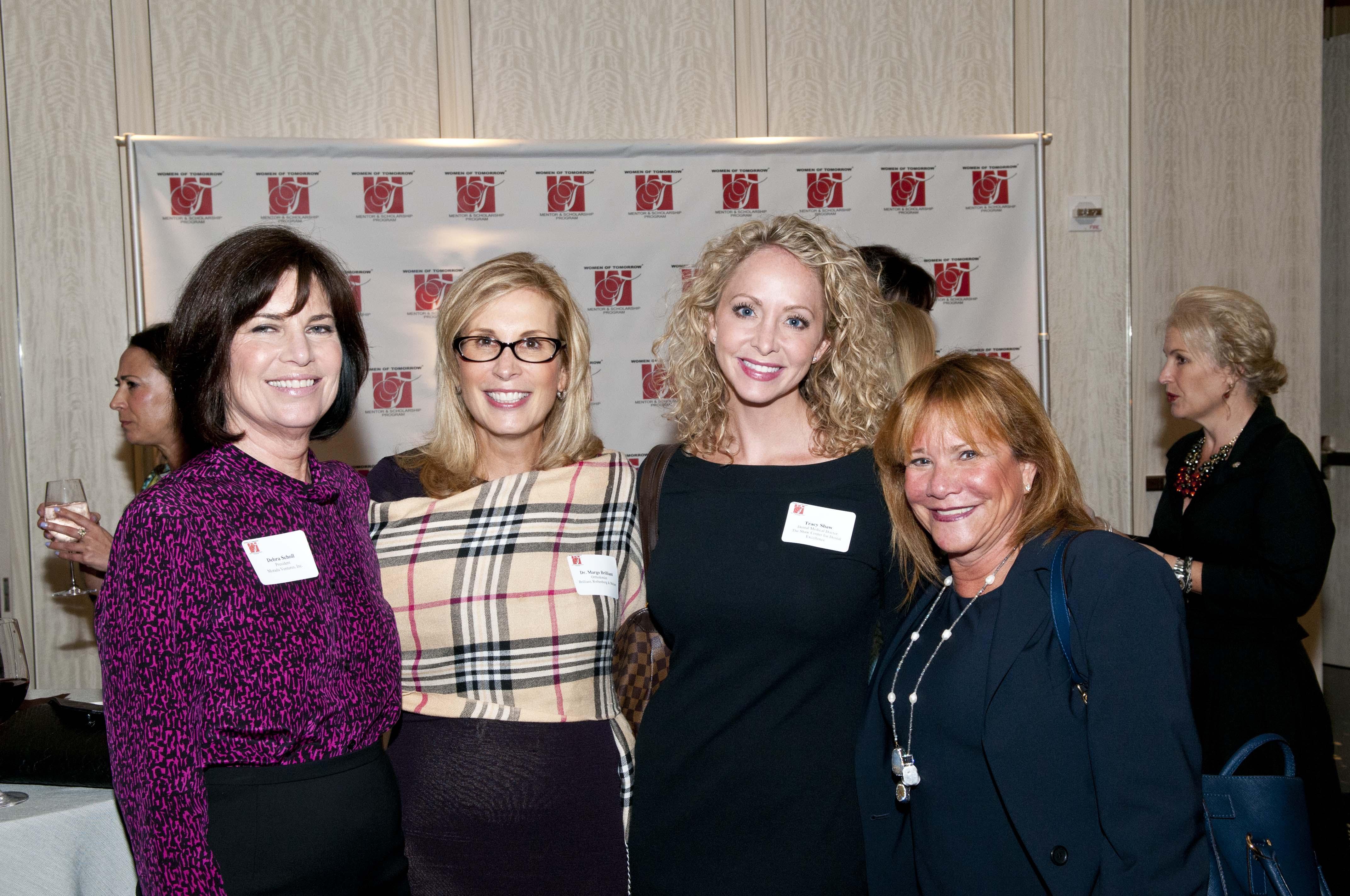 Debra Scholl, Dr. Margo Brilliant, Tracy Shaw & Jayne Weintraub-Sale