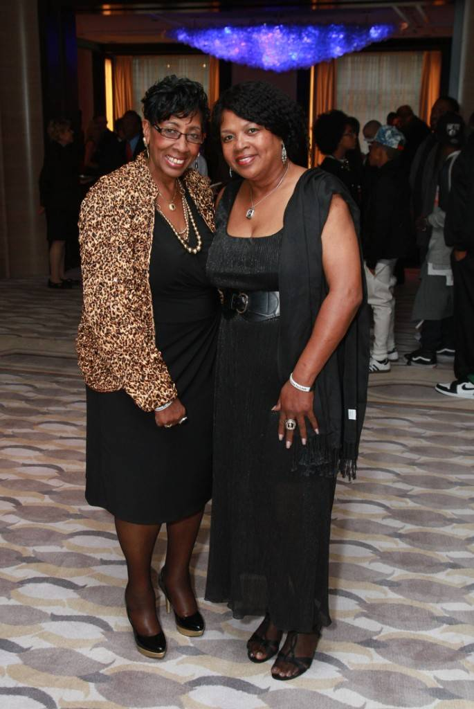 Alderman Carrie Austin (34) and Jolinda Wade