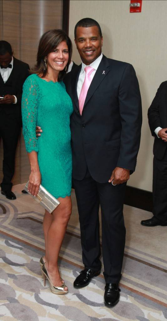Zoraida Sambolin and Kenny Williams