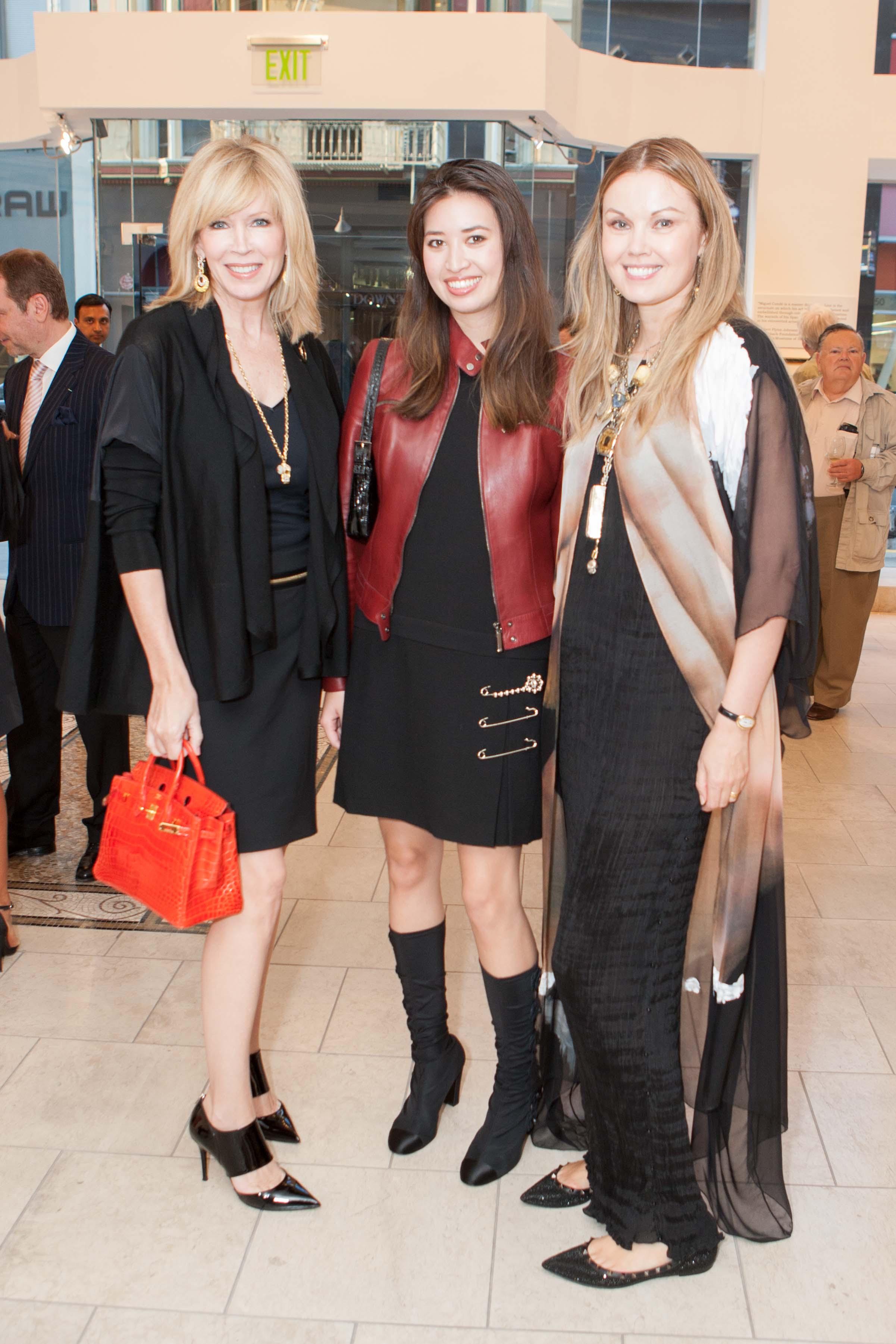 Susan Casden, Alyssa Fung, Tatiana Sorokko Photo: drewaltizer.com