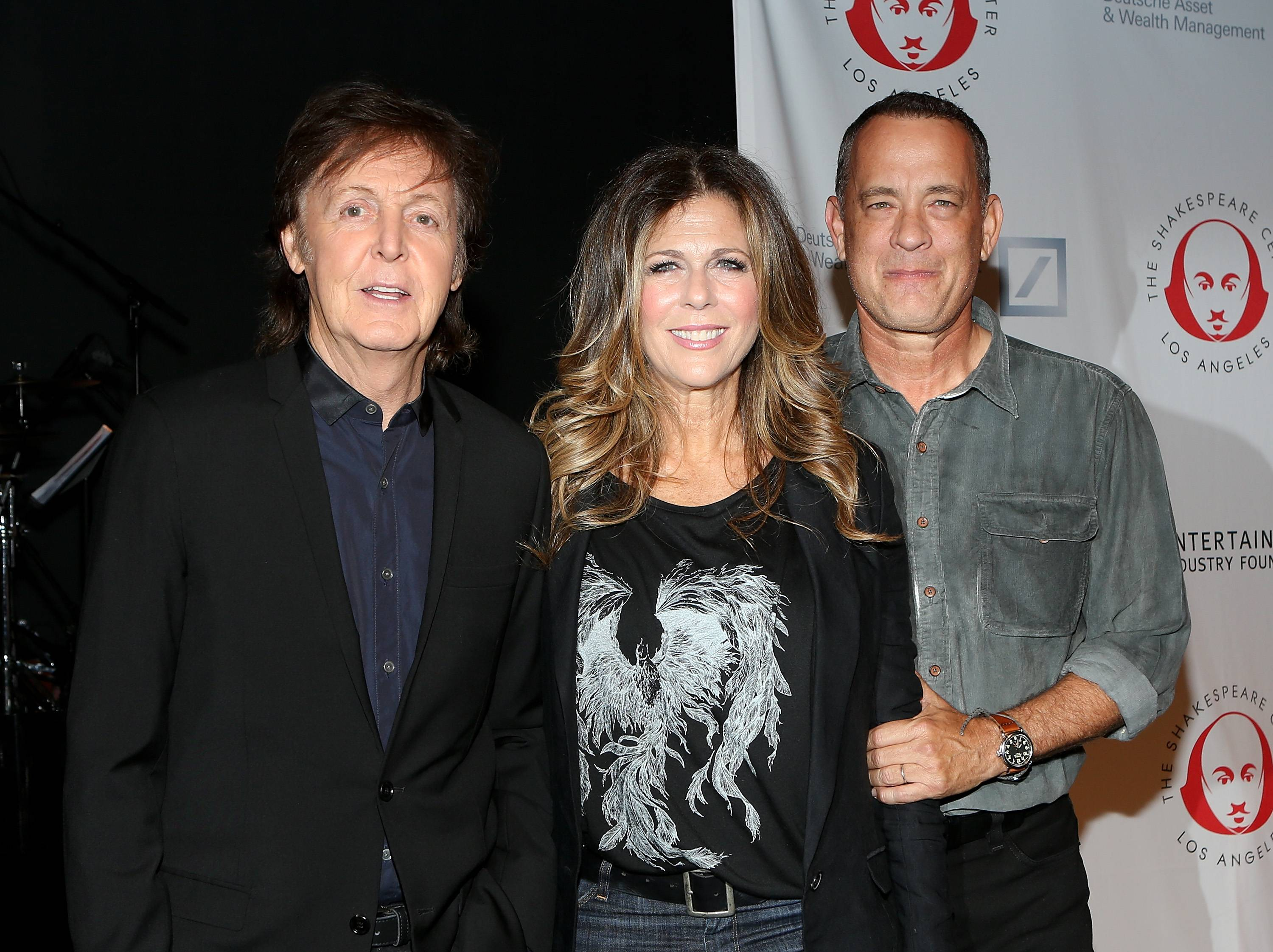 Paul McCartney, Rita Wilson, Tom Hanks