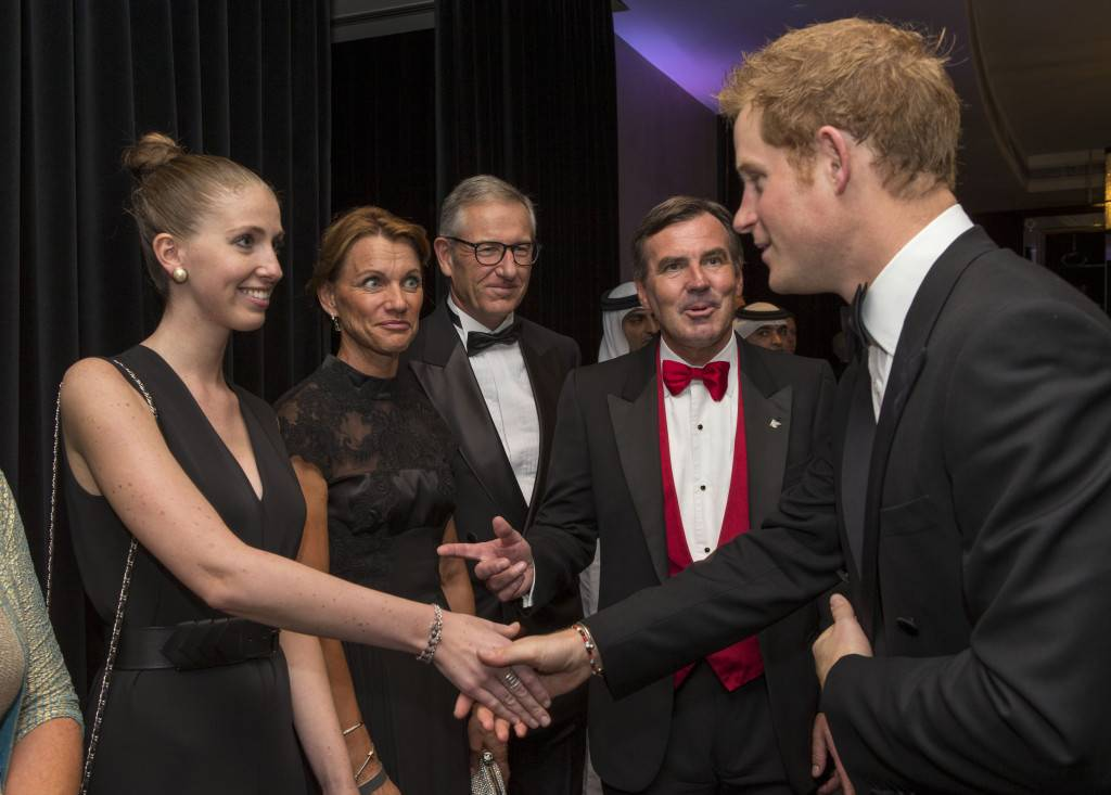 JW Marriott Marquis Dubai Hosts Sentebale Event with Prince Harry