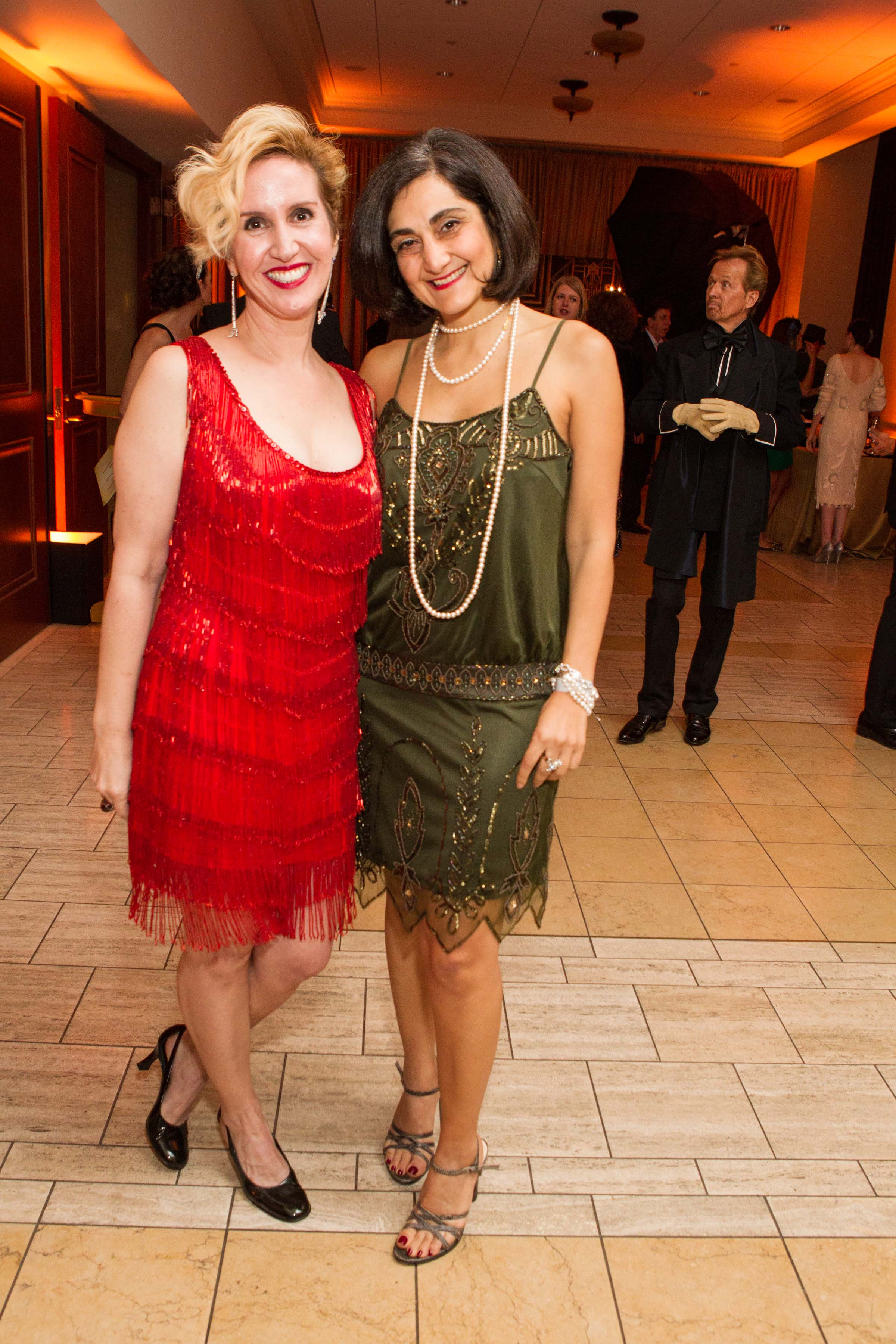 Lisa Sardegna and Fati Farmanfarmaian