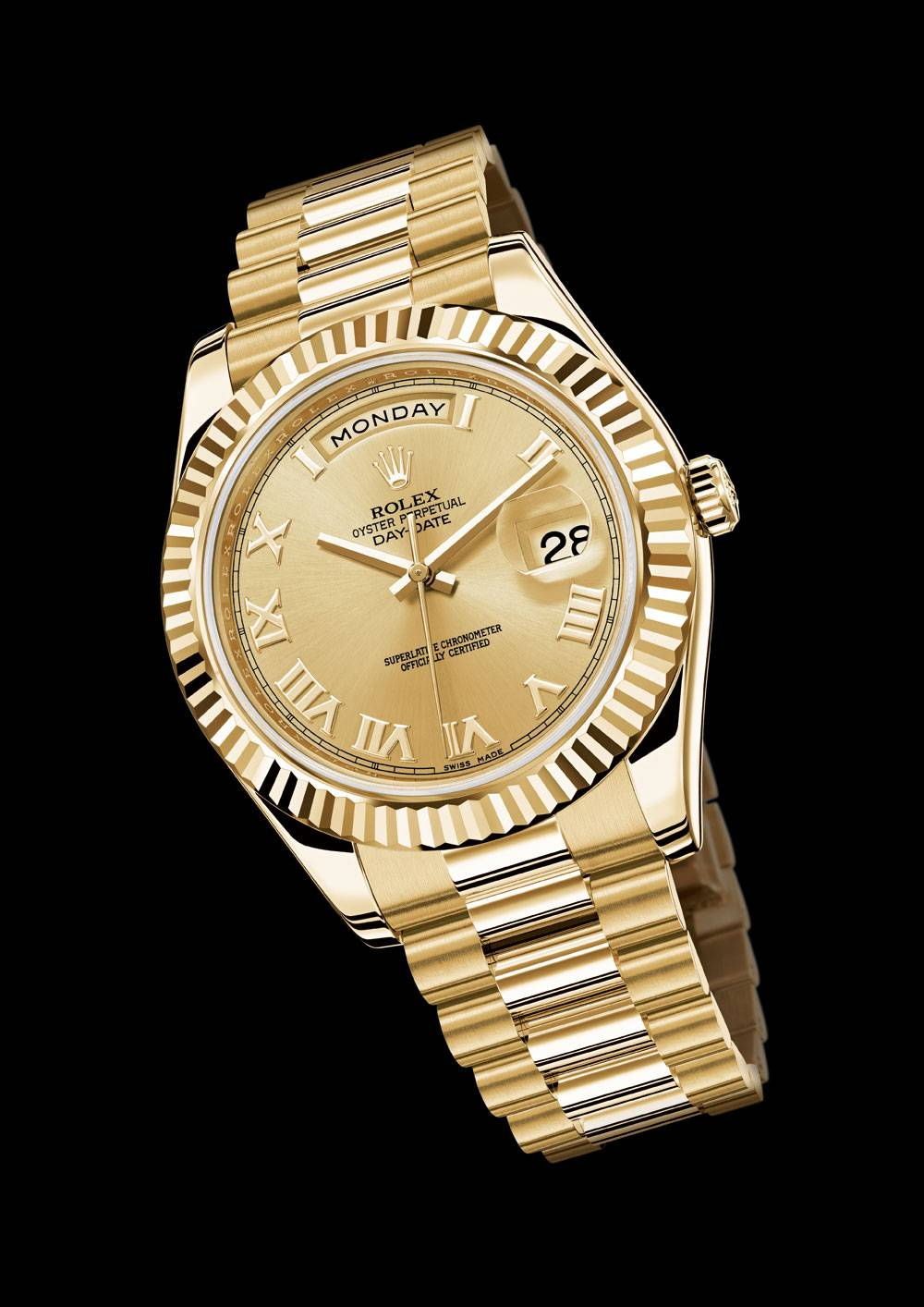 Oyster Perpetual Day-Date Yellow Gold (AKA the Presidential)