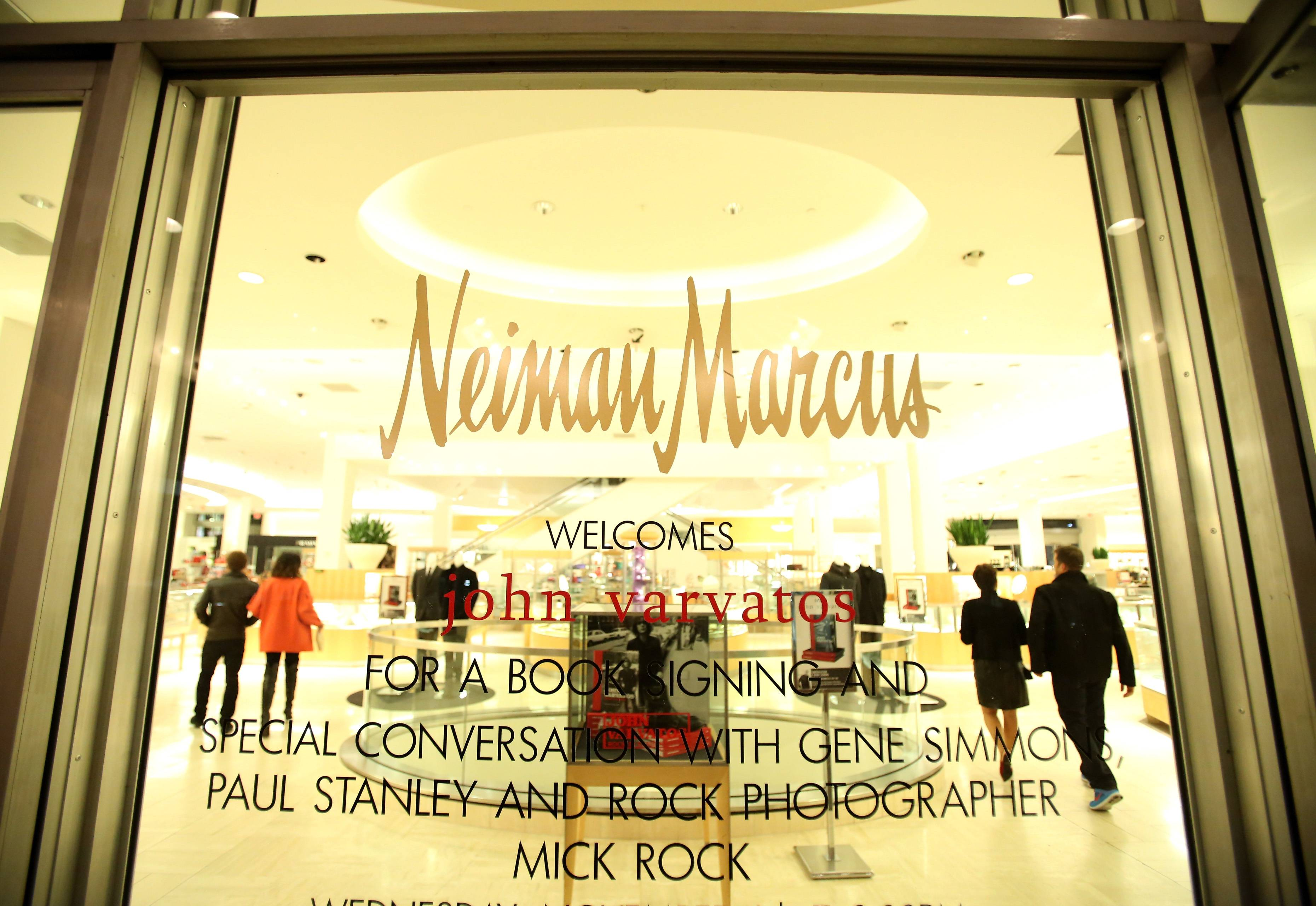 Neiman Marcus Welcomes John Varvatos To Celebrate The Launch Of His Book