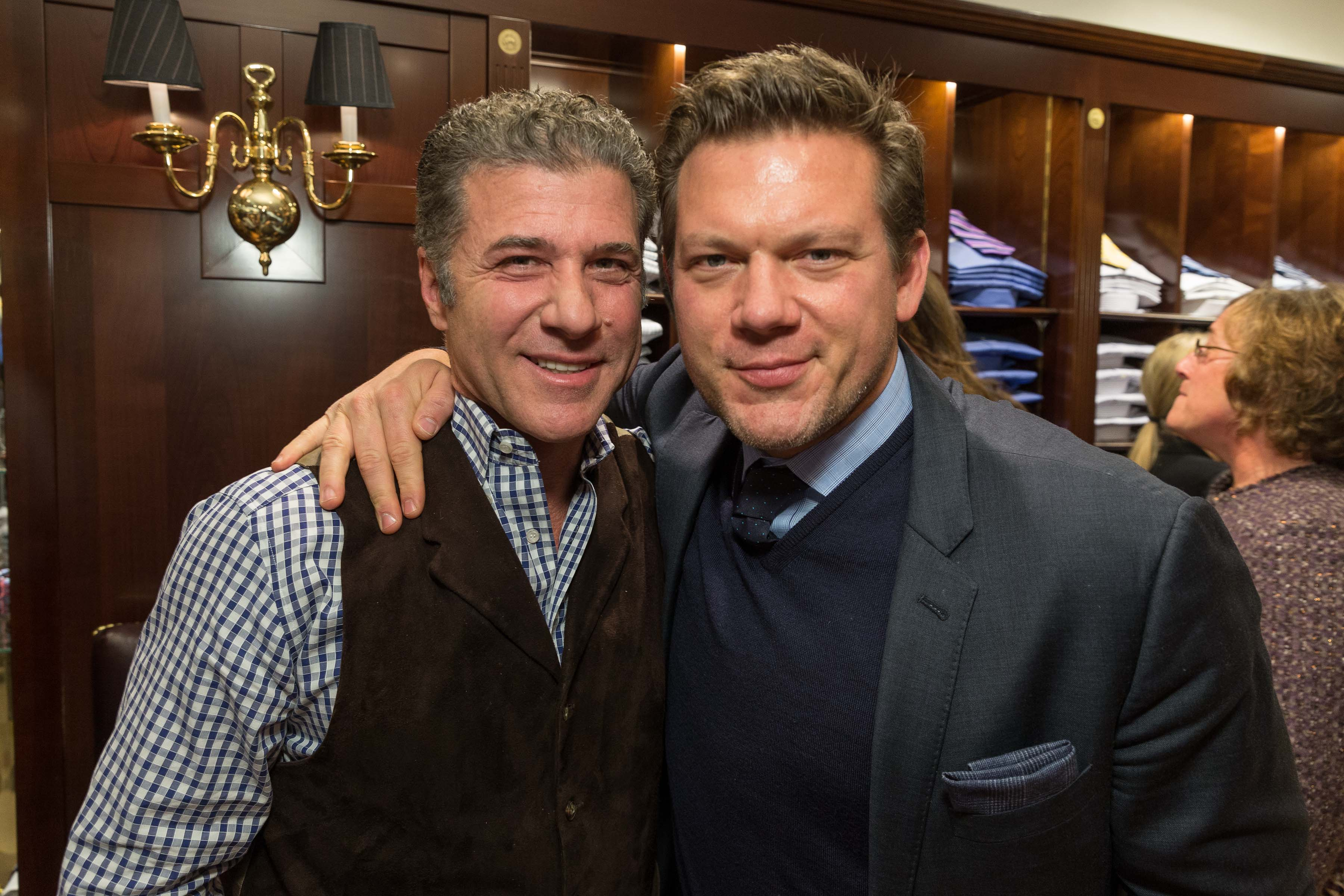 Chefs Michael Chiarello and Tyler Florence