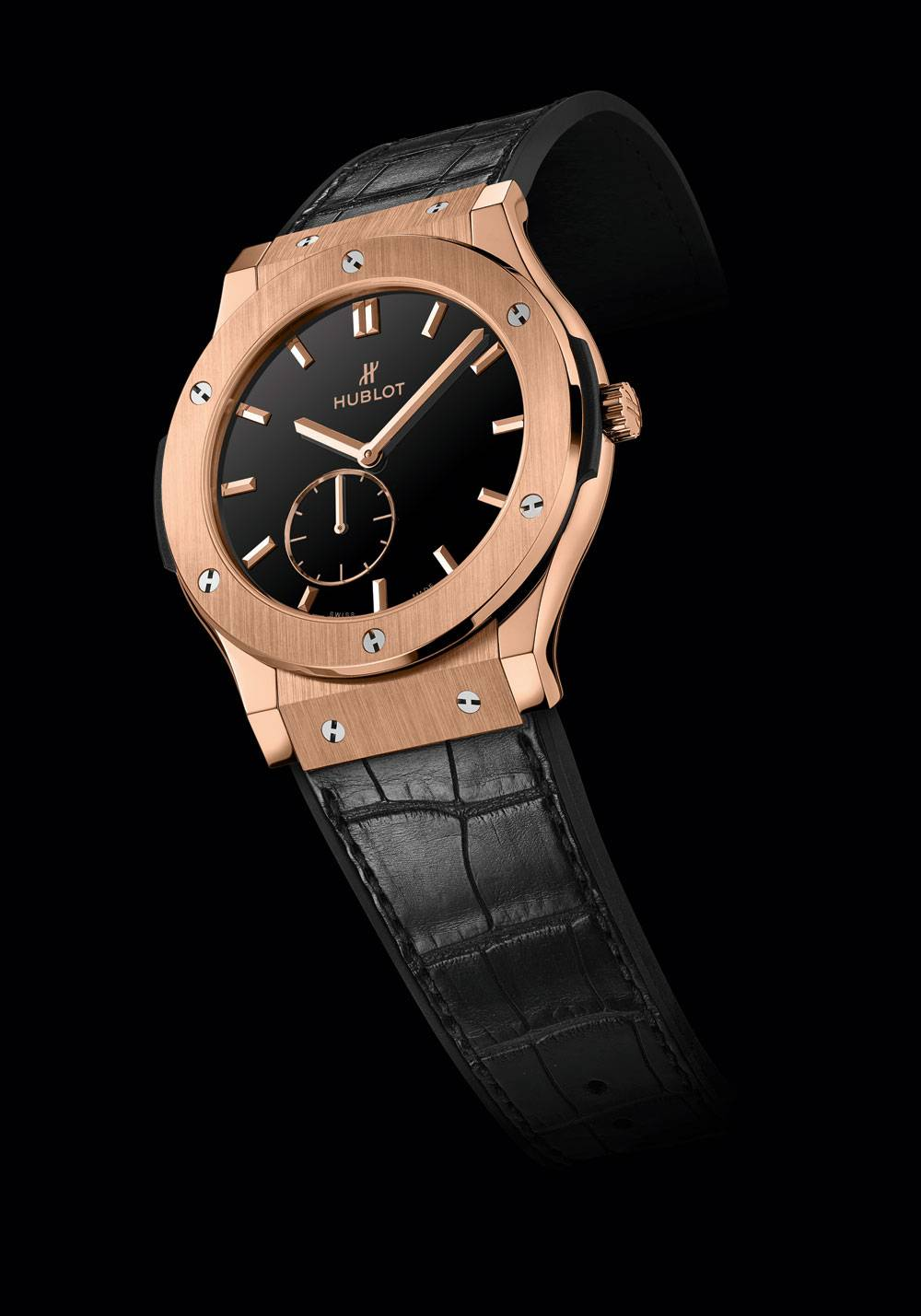 Hublot Classic Fusion King Gold Small Second