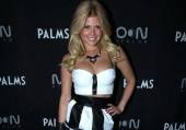 Chanel West Coast arrives at Moon Nightclub.