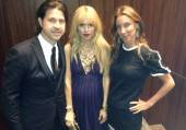 Mike Meldman, Rachel Zoe and Dori Cooperman