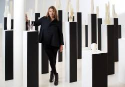 "Zaha Hadid In the ""City of Towers"" at the Zaha Hadid Design Gallery in London"