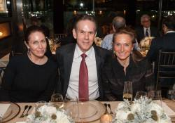 Laura Cunningham, Thomas Keller and Elisabeth Theriot