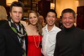 Uli Maybach, Danielle Bersen, Patrick Yuan and Derick Teeking