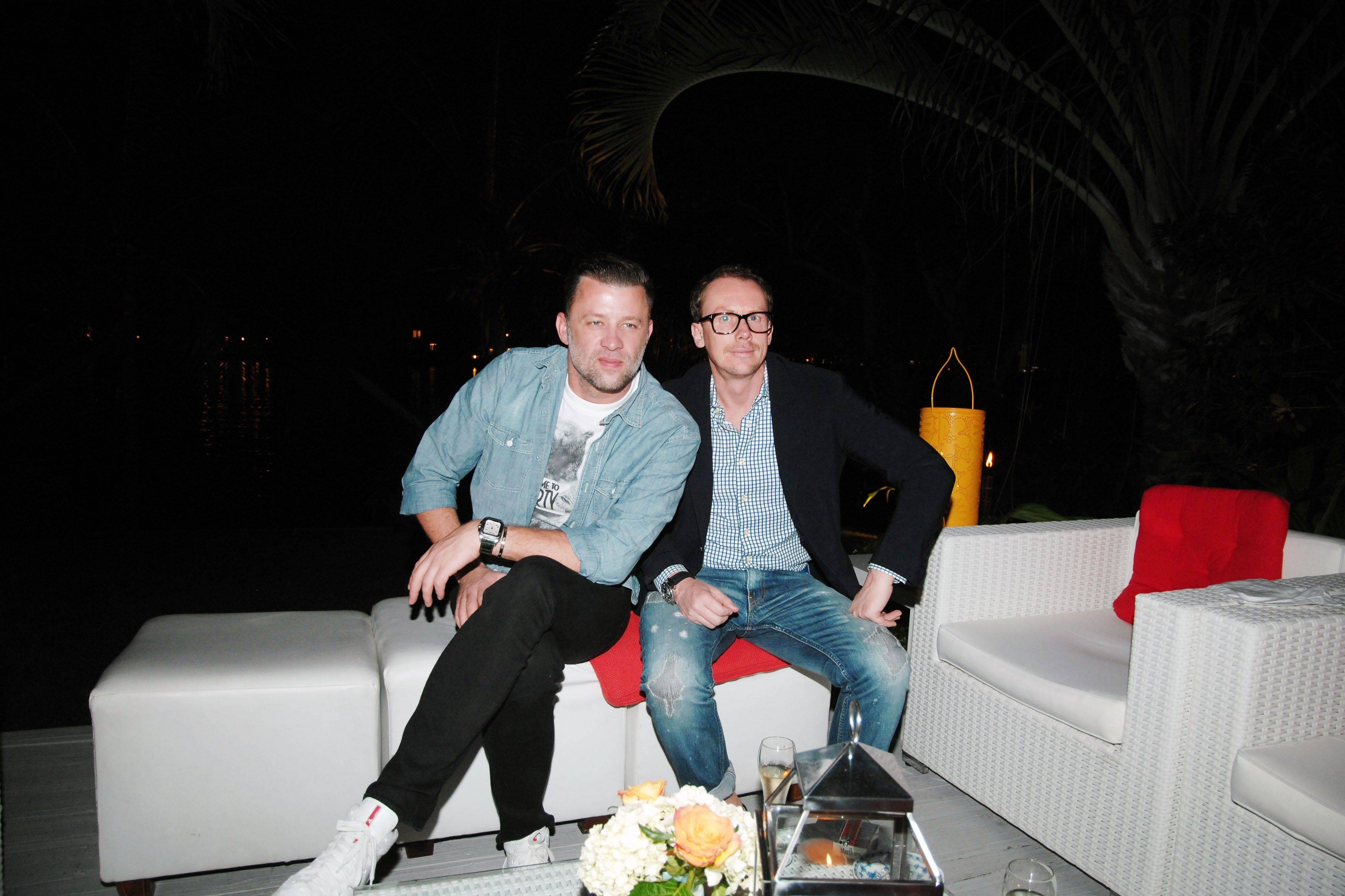 Christian Roth and Eric Domege Host an Evening Honoring Formento + Formento