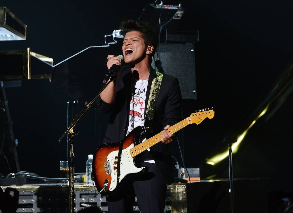Bruno Mars Performs At The Grand Opening of The Chelsea At The Cosmopolitan of Las Vegas