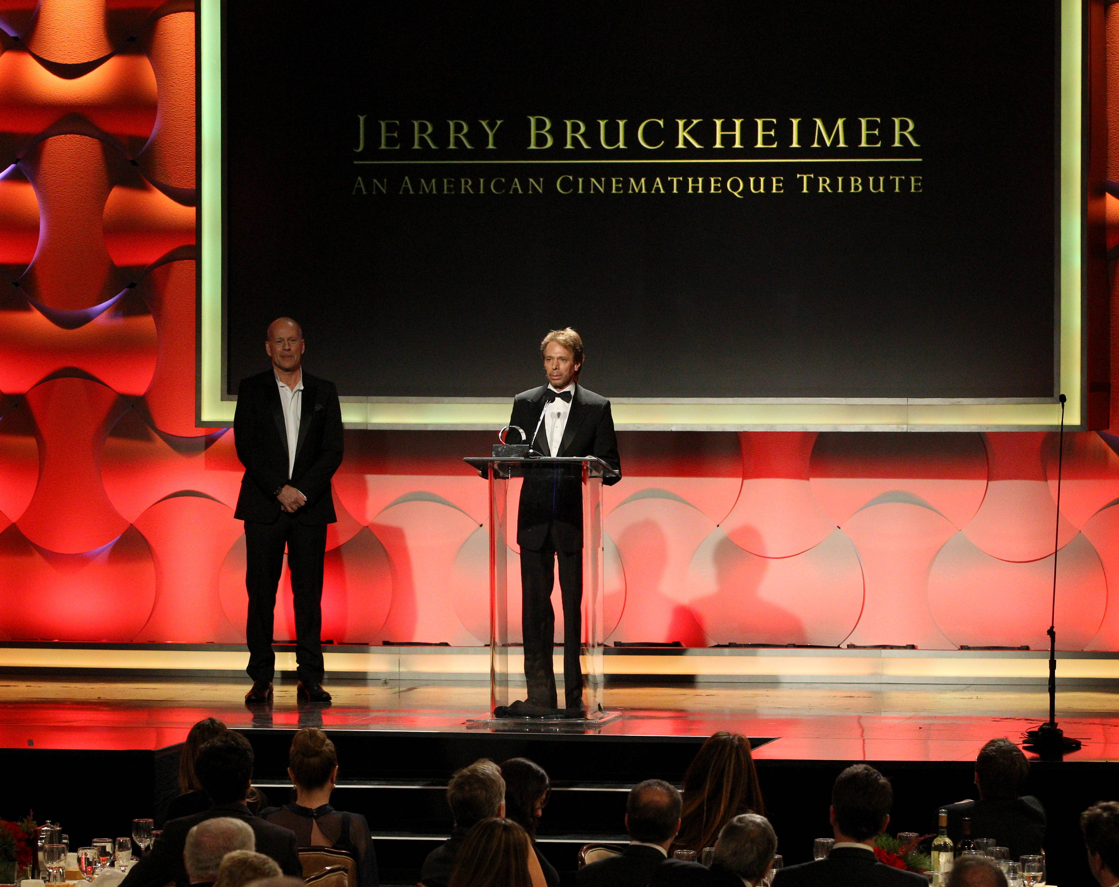 Bruce Willis, Jerry Bruckheimer