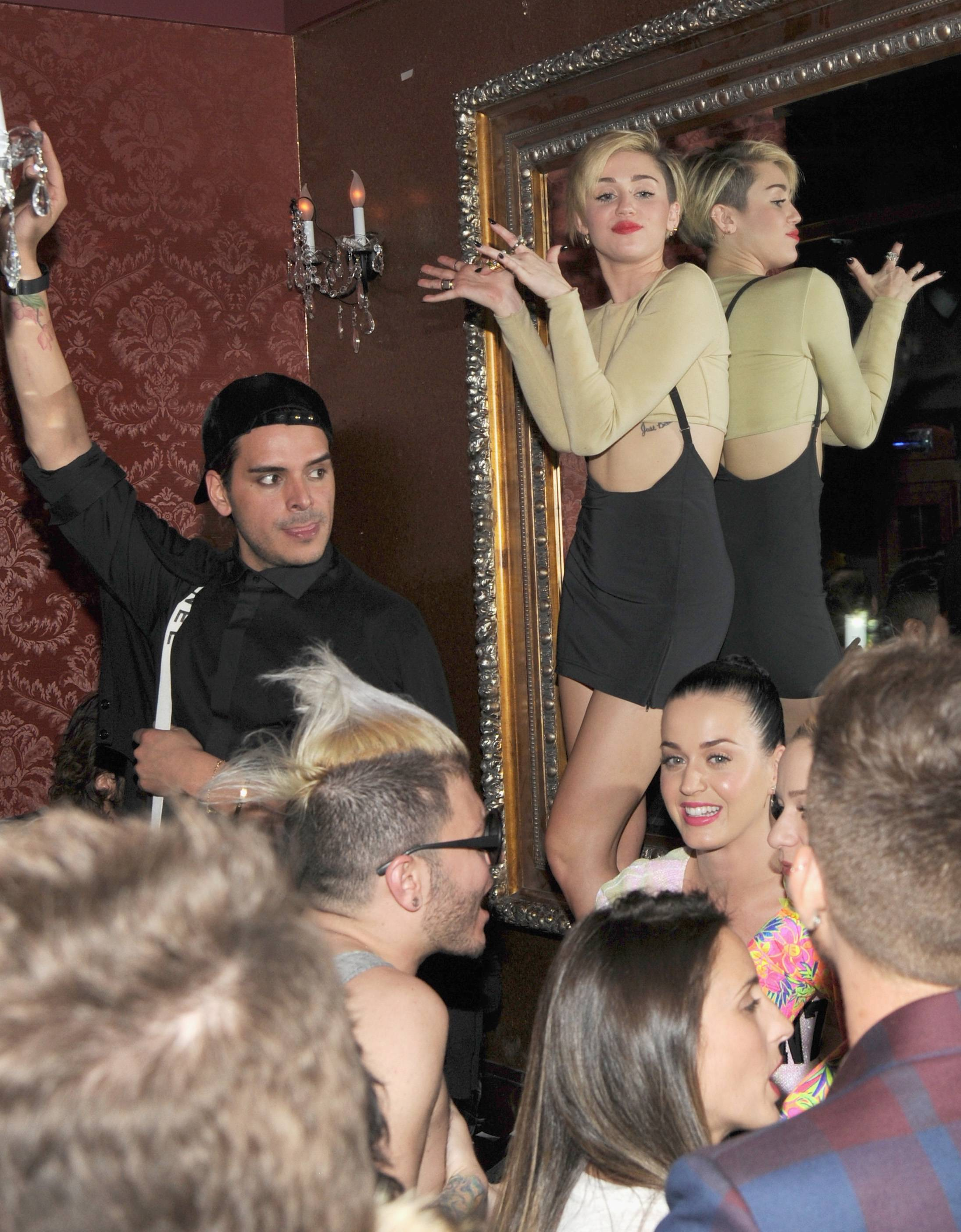 Miley Cyrus Unveils Beacher's Madhouse Las Vegas At The MGM Grand Hotel & Casino