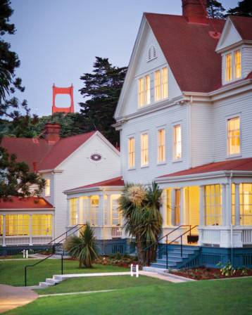 one of the most luxurious resort hotels in Northern California -- Cavallo Point
