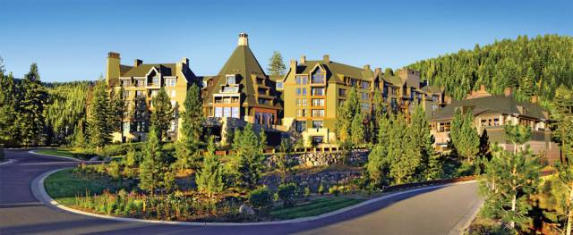 one of the most luxurious resort hotels in Northern California -- Ritz-Carlton, Lake Tahoe