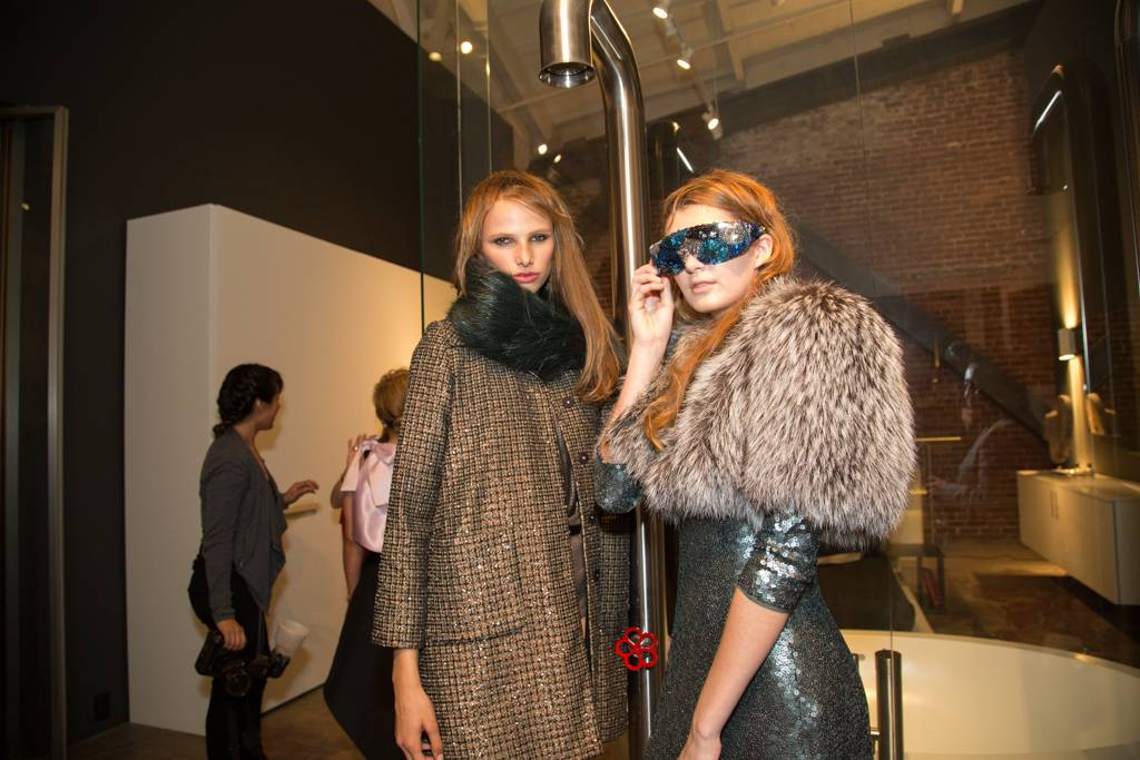 Look Model Agency's Lea and Elise in Marc Jacobs Collection and Natasha Morgan Eyewear  Credit: Drew Altizer Photography