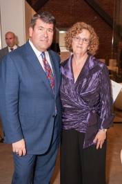 Family Builders' Board President Alan Morrell and Executive Director Jill Jacobs