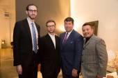Supervisor Scott Wiener, SF Chronicle's Tony Bravo, Family Builders' Alan Morrell and LUXETIGERS' Victor Vargas