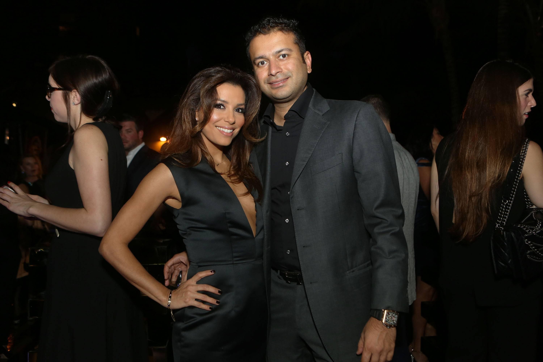 Eva Longoria & Kamal Hotchandani1