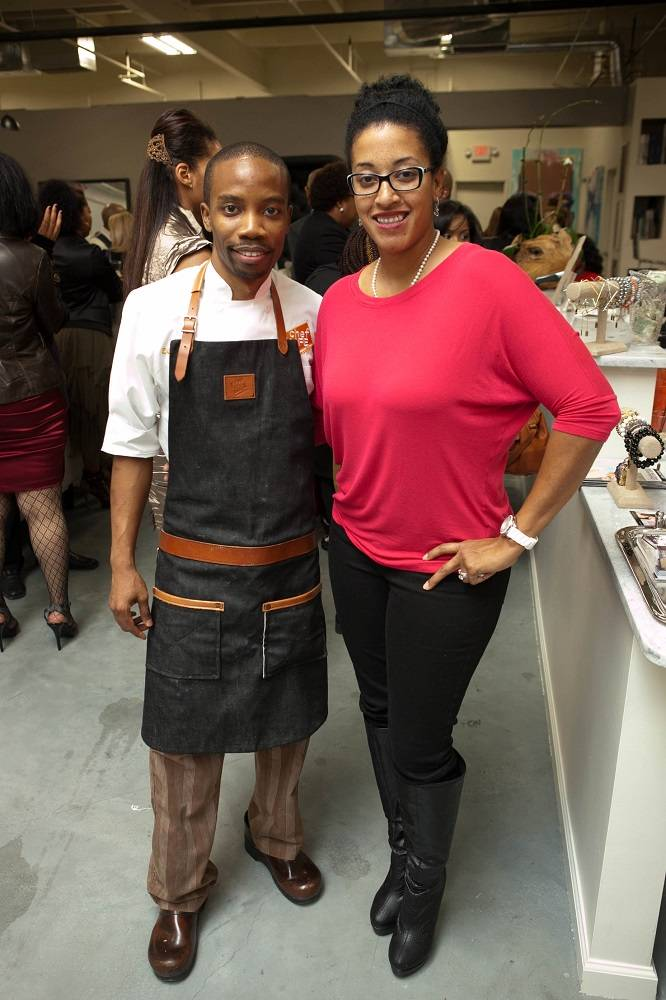 Chef Ed Harris and Nadia DeMessa of Yum Yum Cupcakes & More