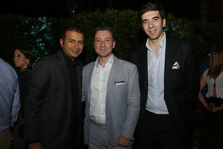 Kamal Hotchandani, Jean-Marc Pontroue, & Gianfranco L'Attis