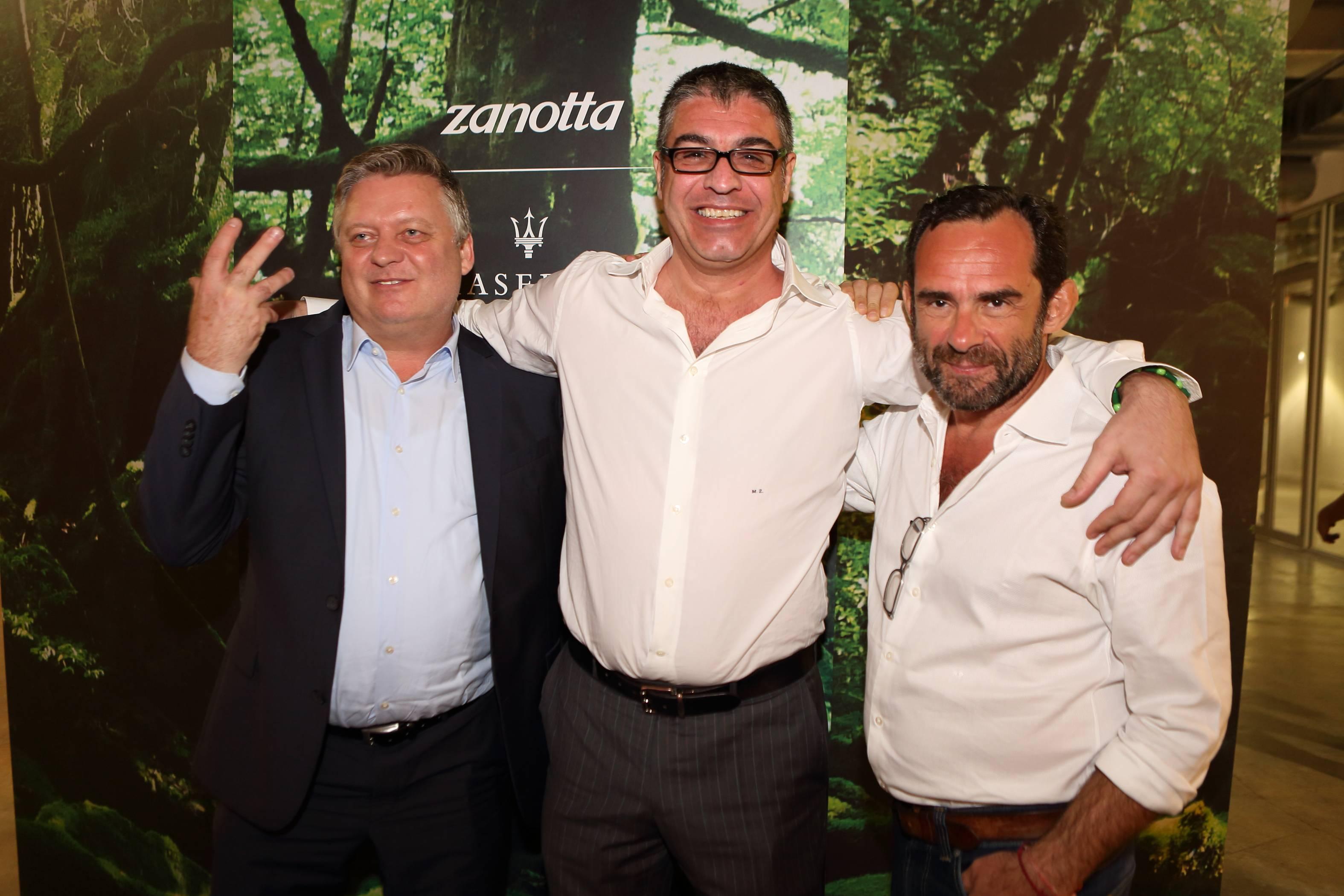 John Marquette, Martino Zanotta, Roberto Palomba 2