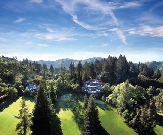 one of the most luxurious resort hotels in Northern California -- Meadowood Napa Valley