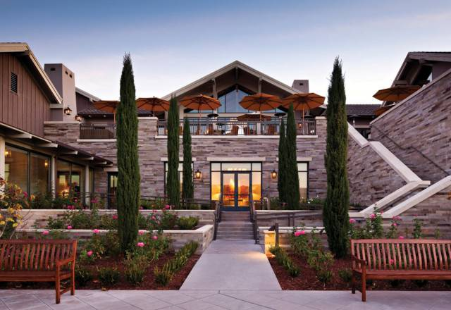 one of the most luxurious resort hotels in Northern California -- Rosewood Sand Hill
