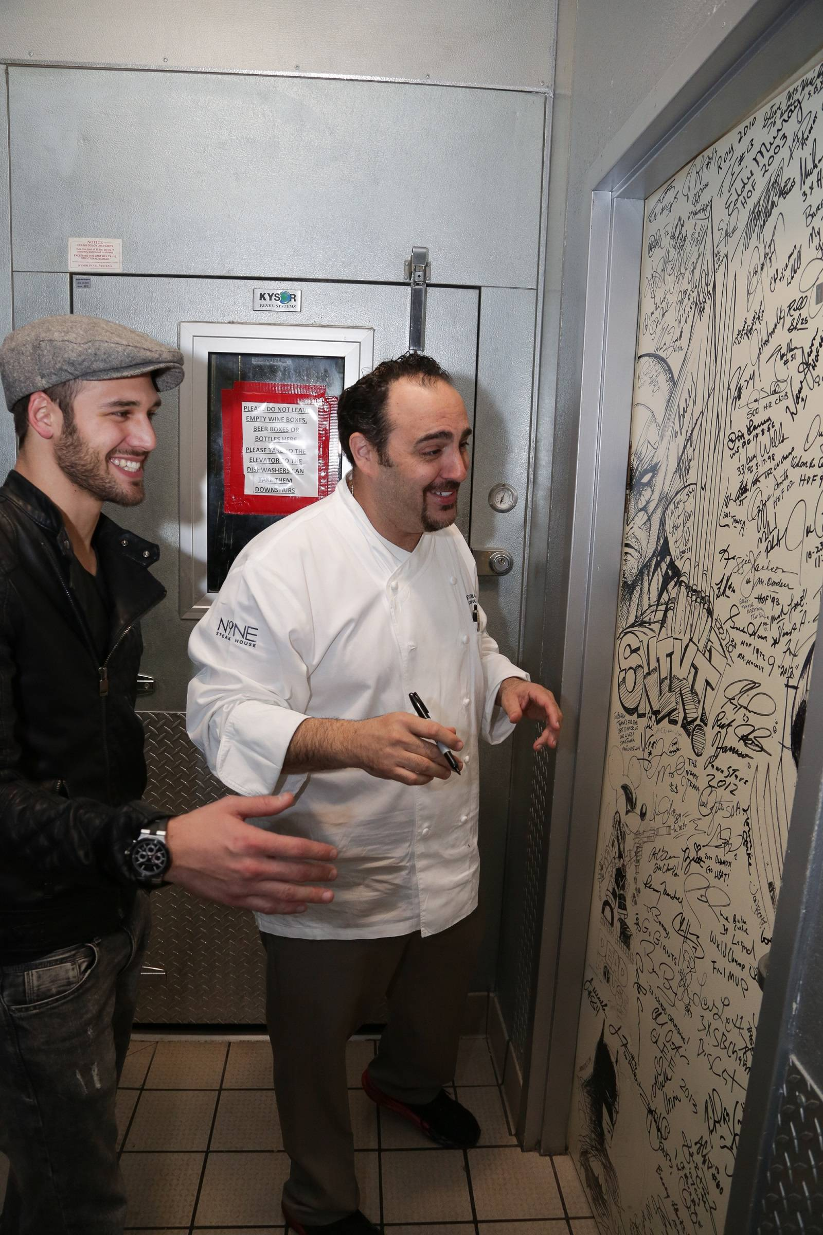 Ryan Guzman gets tour of Shakedown Door