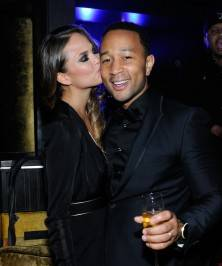 John Legend Rings In 2014 At HAZE Nightclub At ARIA In Las Vegas