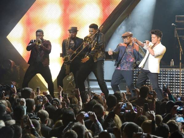 Bruno Mars performs at The Chelsea. Photos: Ethan Miller/WireImage