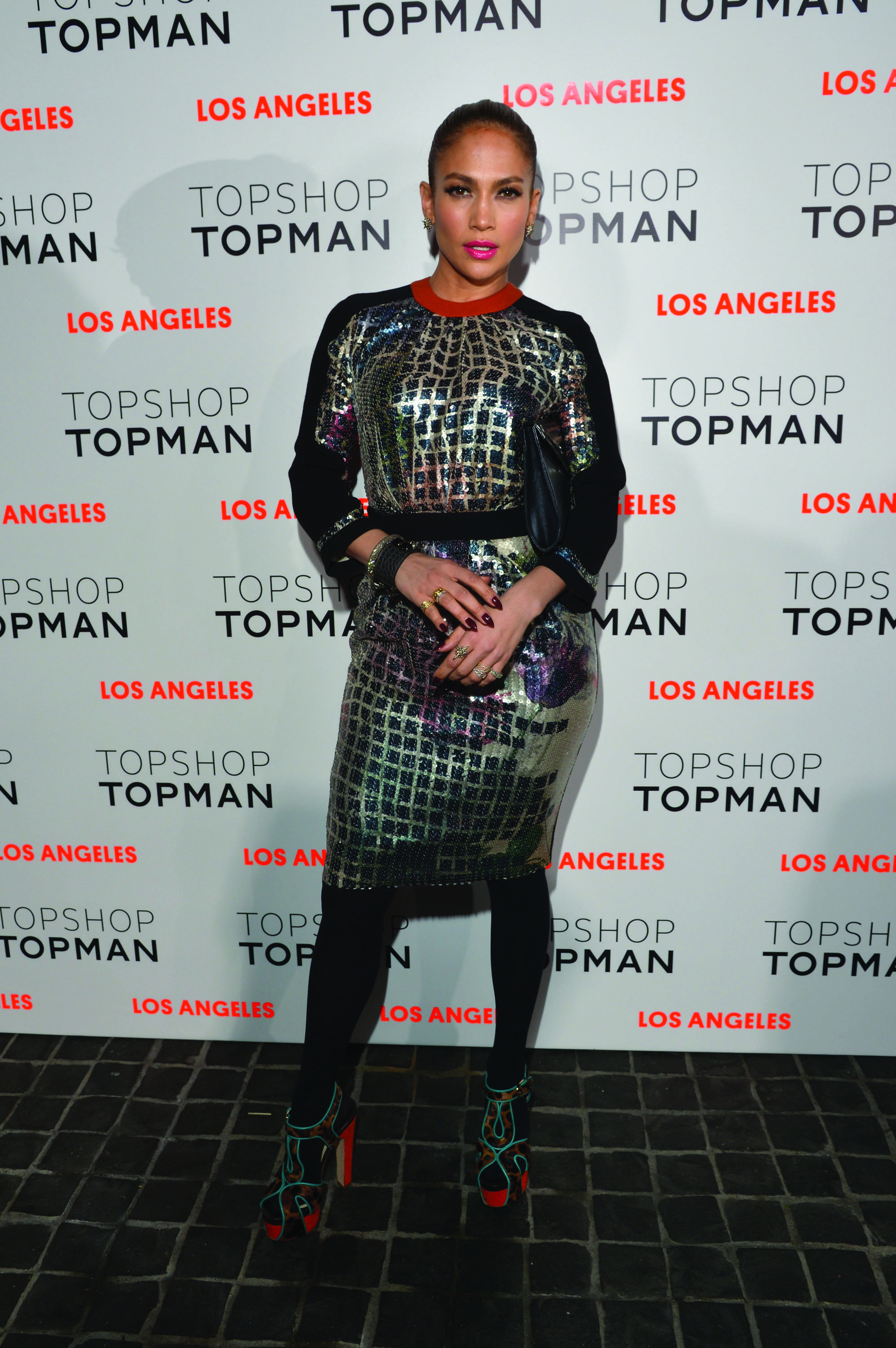 Topshop Topman LA Opening Party - Red Carpet
